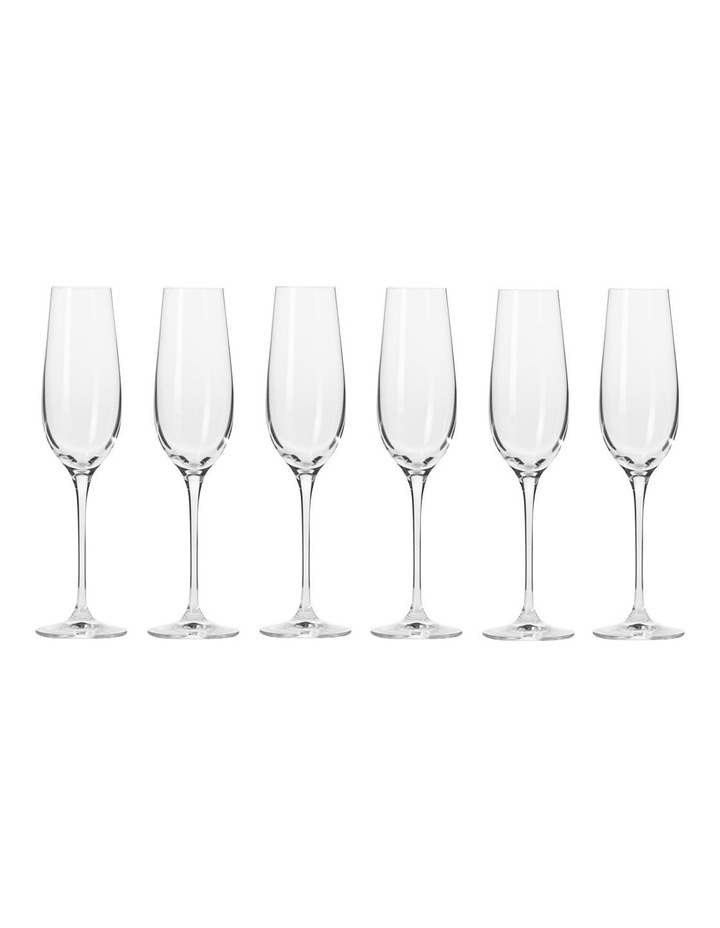 Harmony Champagne Flute 180ML 6pc Gift Boxed image 1