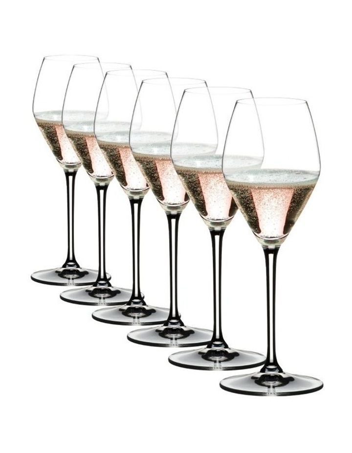 Extreme Ros Champagne/Ros Wine Glass Set Of 6 image 1