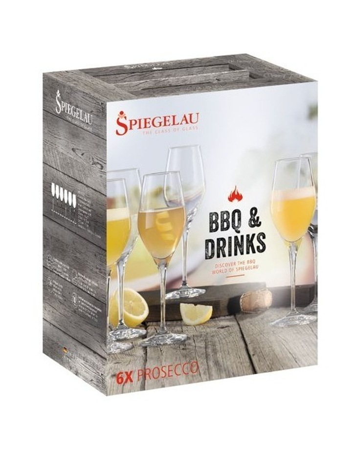 Bbq & Drinks Prosecco Set of 6 image 2