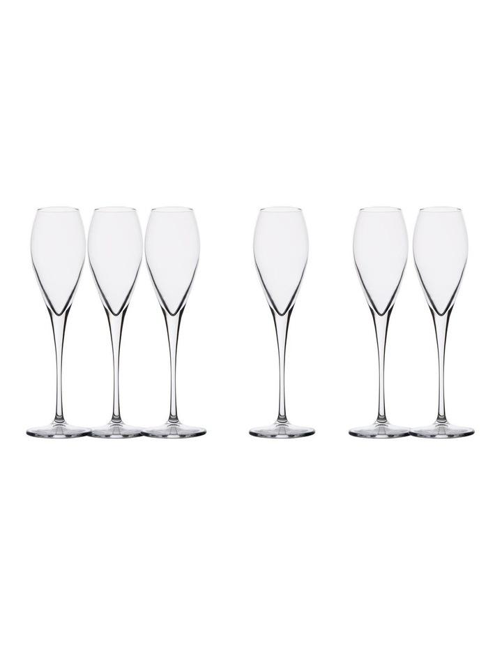 Sommelier Champagne Flute 225ML Set of 6 Gift Boxed image 1