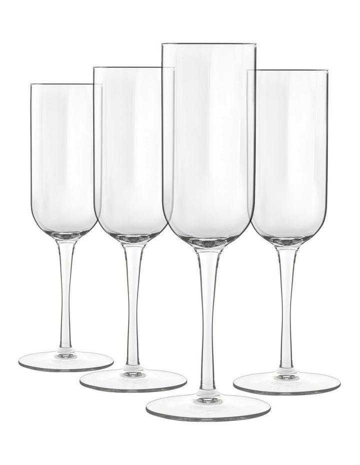 Jazz 4pc Champagne Flute Set image 3