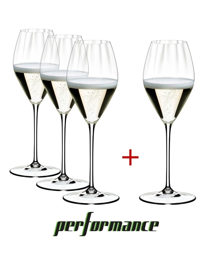 Performance Champagne Glass Pay 3 Get 4 image 1