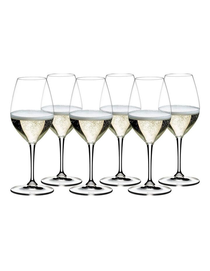Vinum Champagne Wine Glass Value 6 Pack image 1