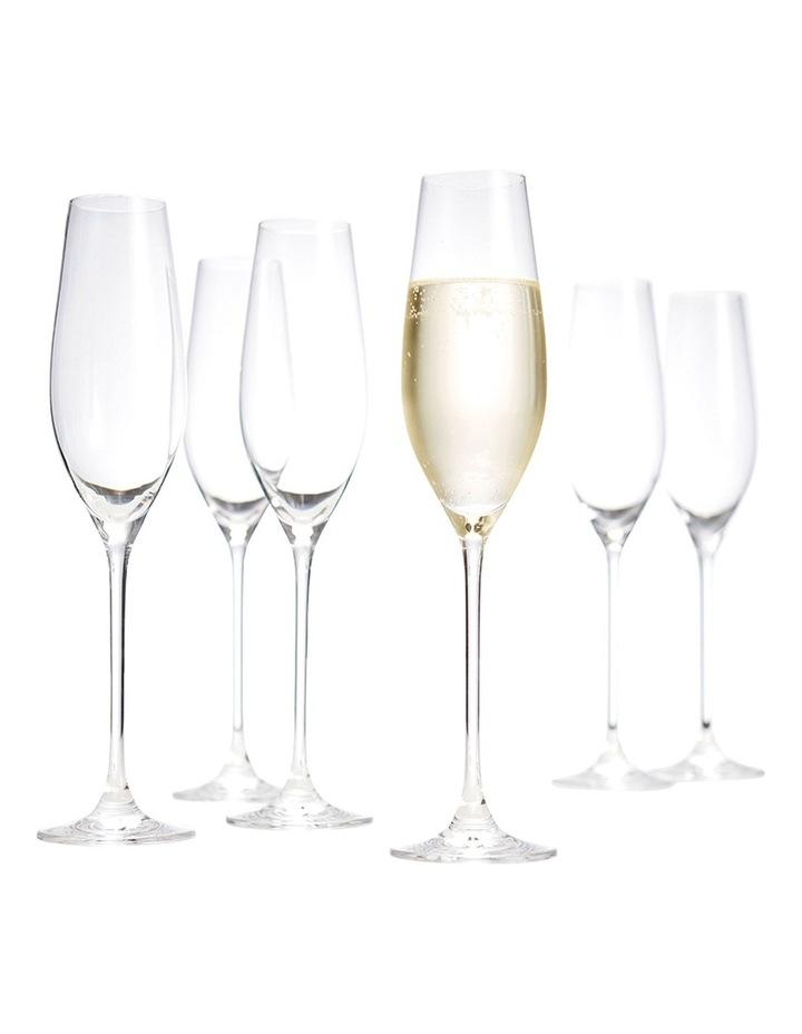 'Cuvee'Champagne Flute Set of 6 image 2