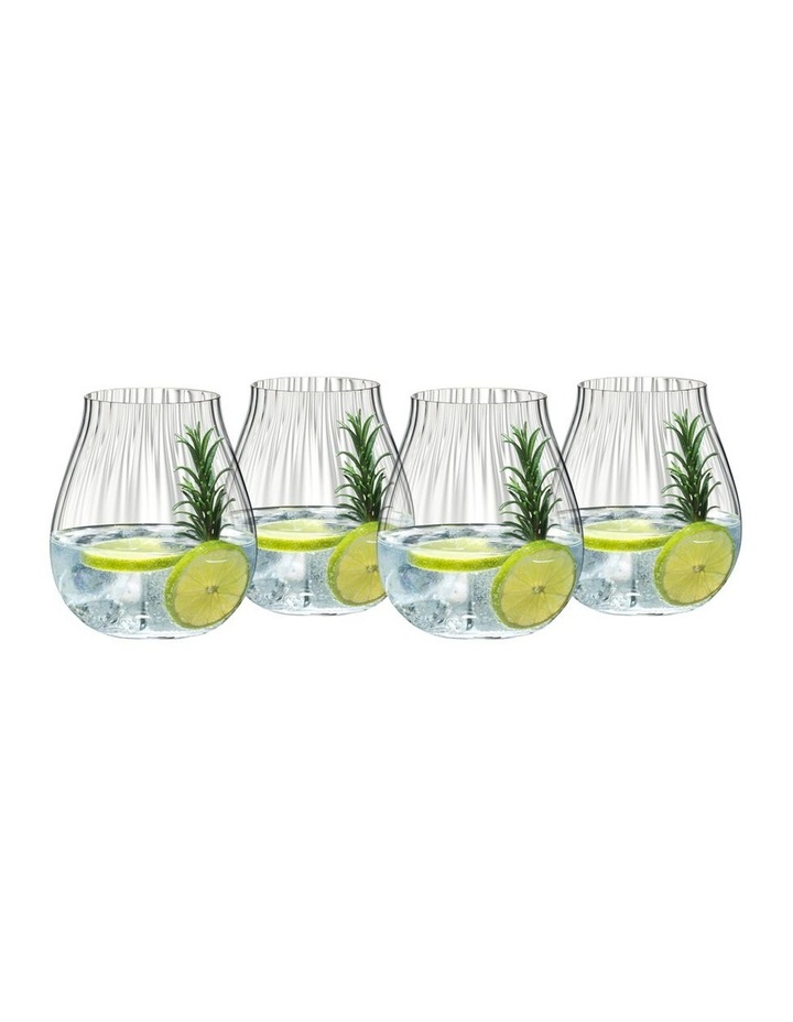 Gin Set of 4 Optic O image 1
