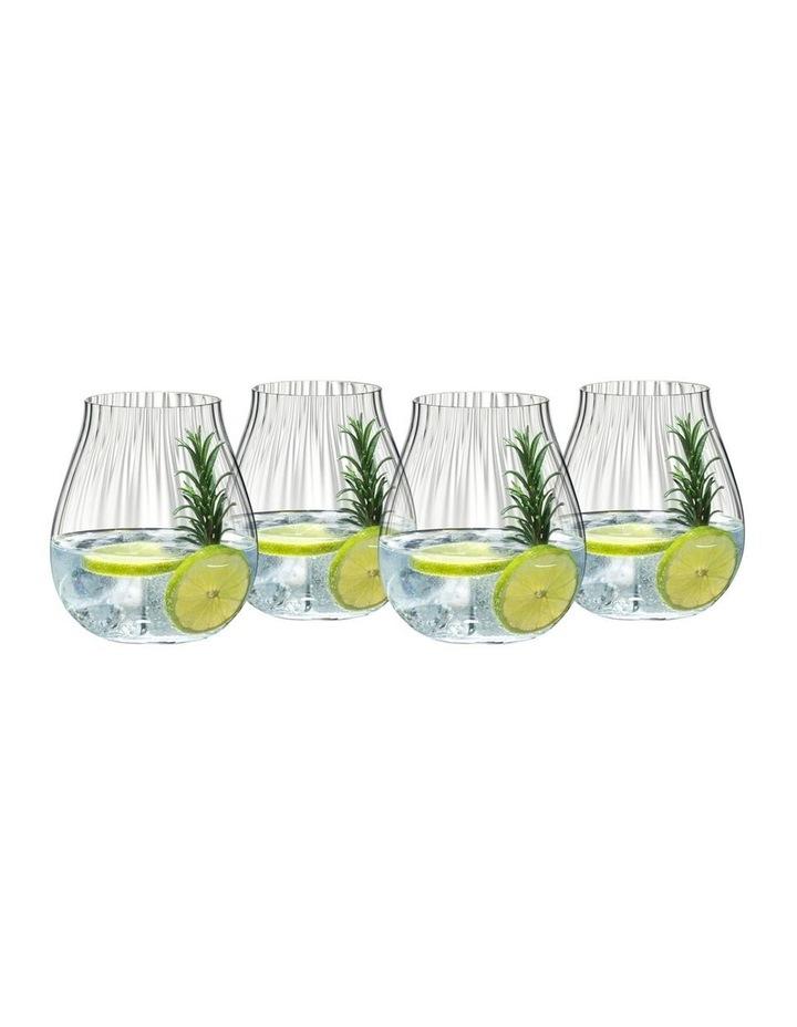 Gin Set of 4 Optic O image 1
