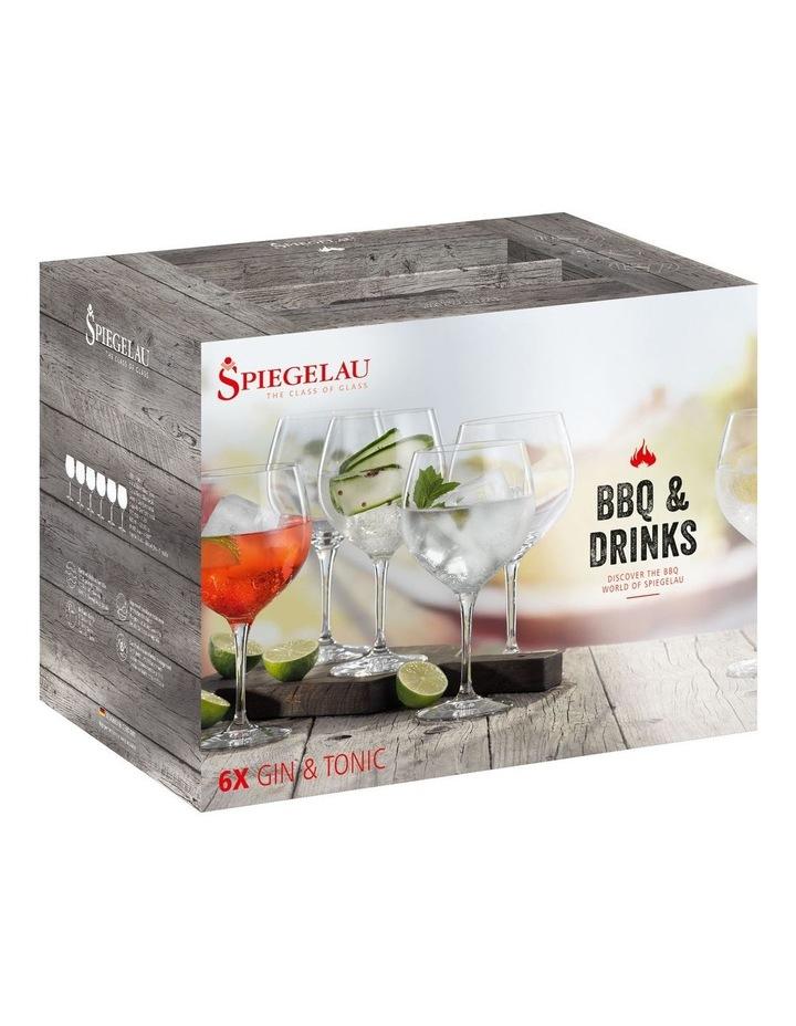 Bbq & Drinks Gin & Tonic Set of 6 image 1