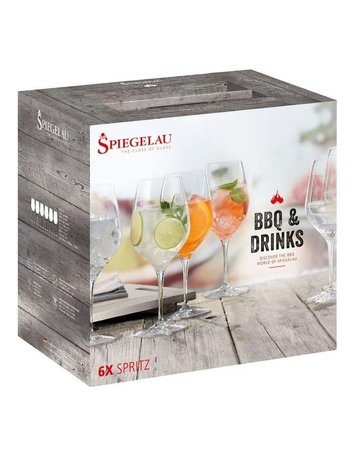 Bbq & Drinks Spritz Set of 6 image 1