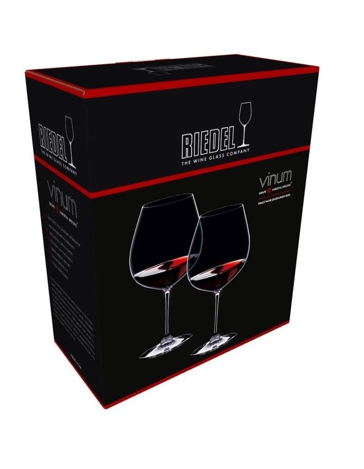 Vinum Pinot Noir (Burgundy) Glass Set Of 2 image 2