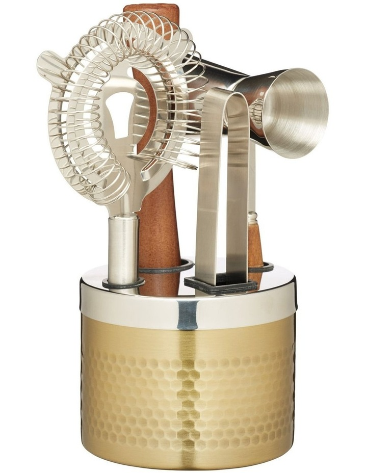 Cocktail Tool Set 5pc Gift Boxed image 1