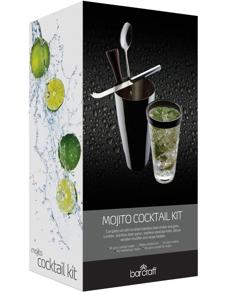 Mojito Cocktail Kit 4pc Gift Boxed image 2