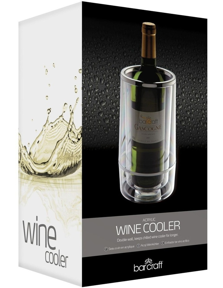 Double Wall Wine Cooler Acrylic Gift Boxed image 2