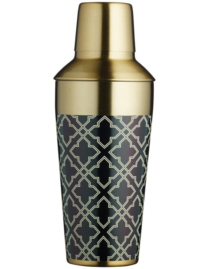 Art Deco Cocktail Shaker 650ML Gift Boxed image 1