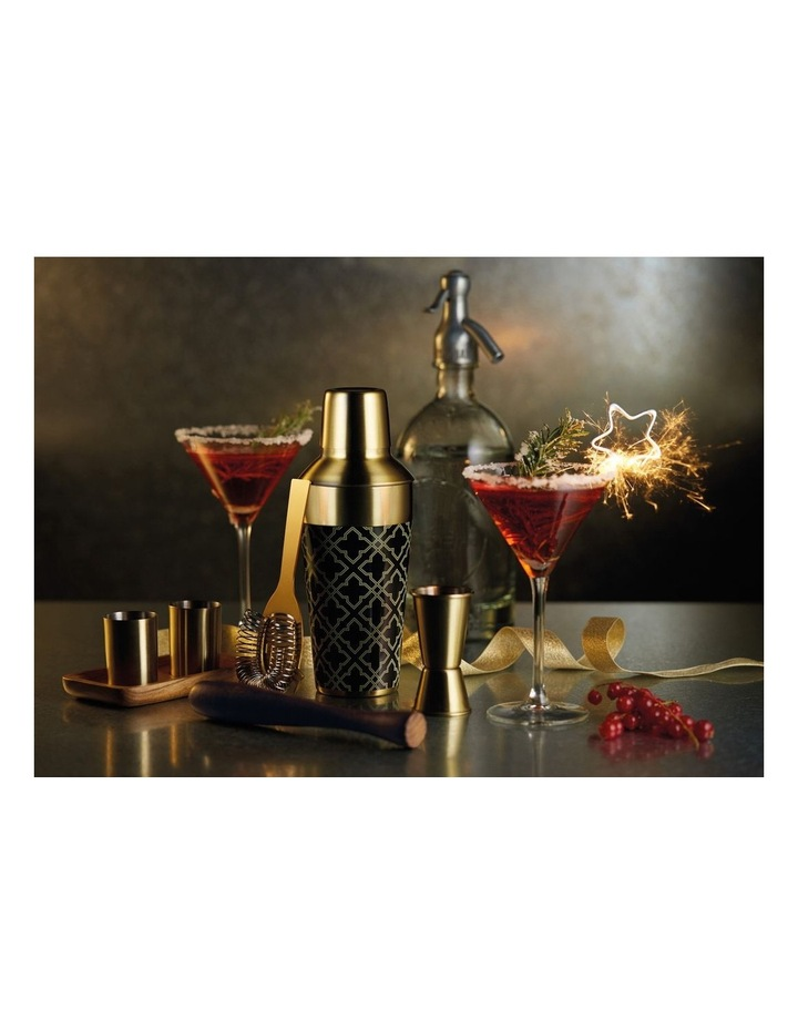 Art Deco Cocktail Shaker 650ML Gift Boxed image 2