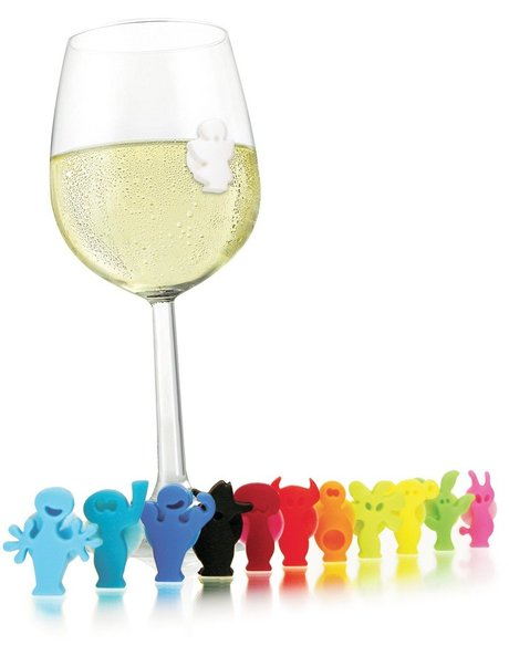 Party People Glass Markers Set of 12 image 1