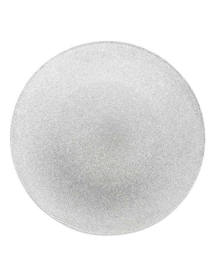 Glitter Cake Plate Silver 33 cm image 1