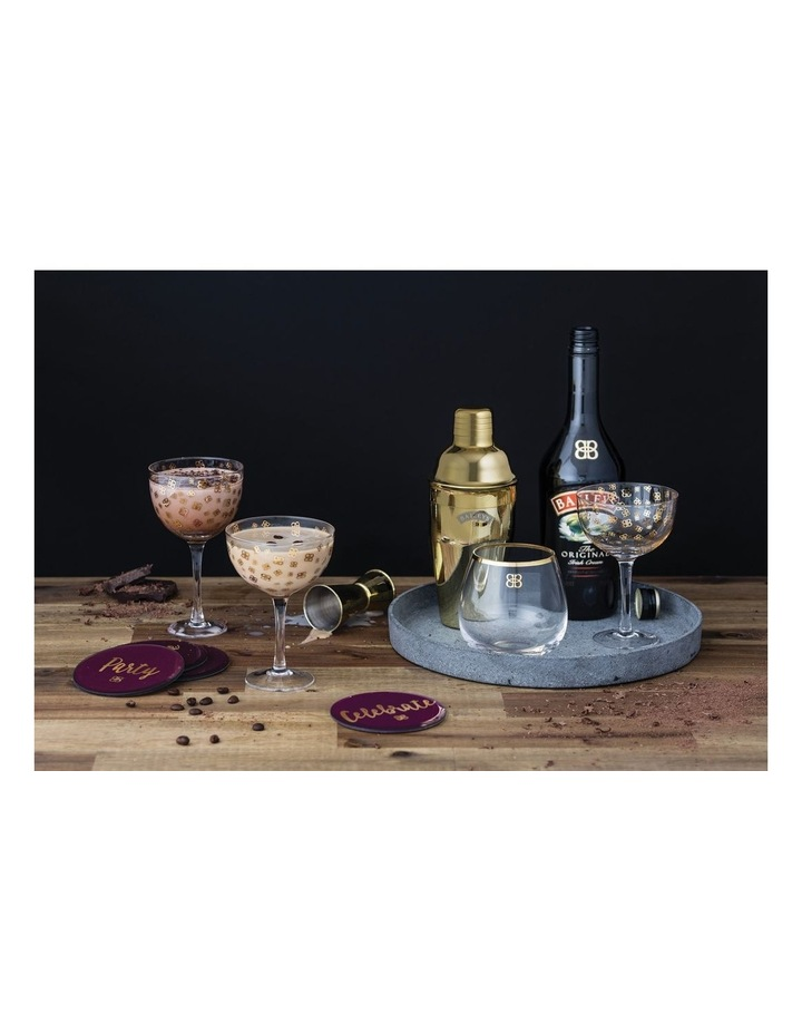 Baileys Glass Coasters Set/4 image 3