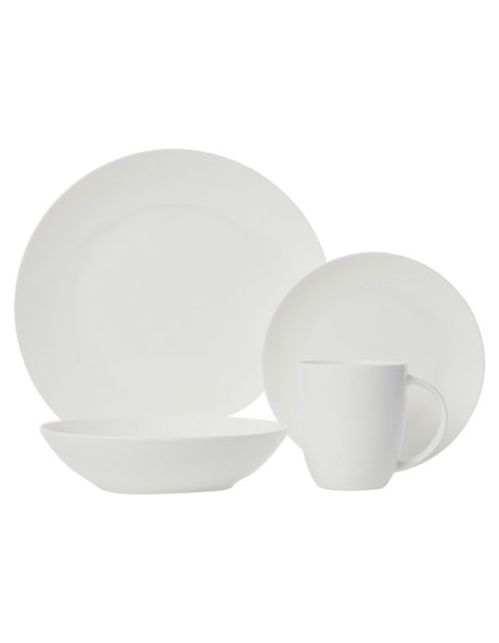 Cashmere Resort Coupe 16 Piece Dinner Set image 1