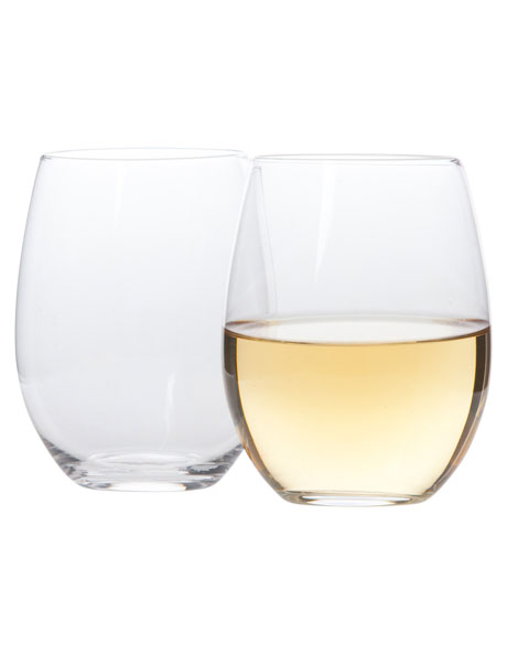 Stemless Wine Glasses Set of 4 image 1
