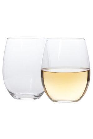 Vue - Stemless Wine Glasses Set of 4