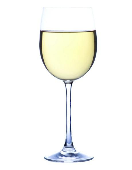 Siena Set of 6 White Wine Glasses image 1