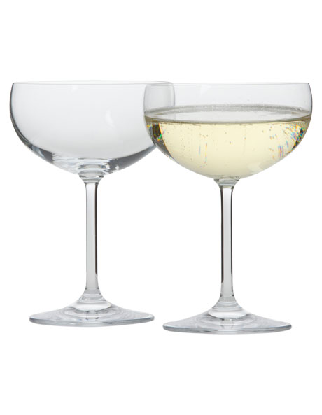 Champagne Saucer Set of 4 image 1