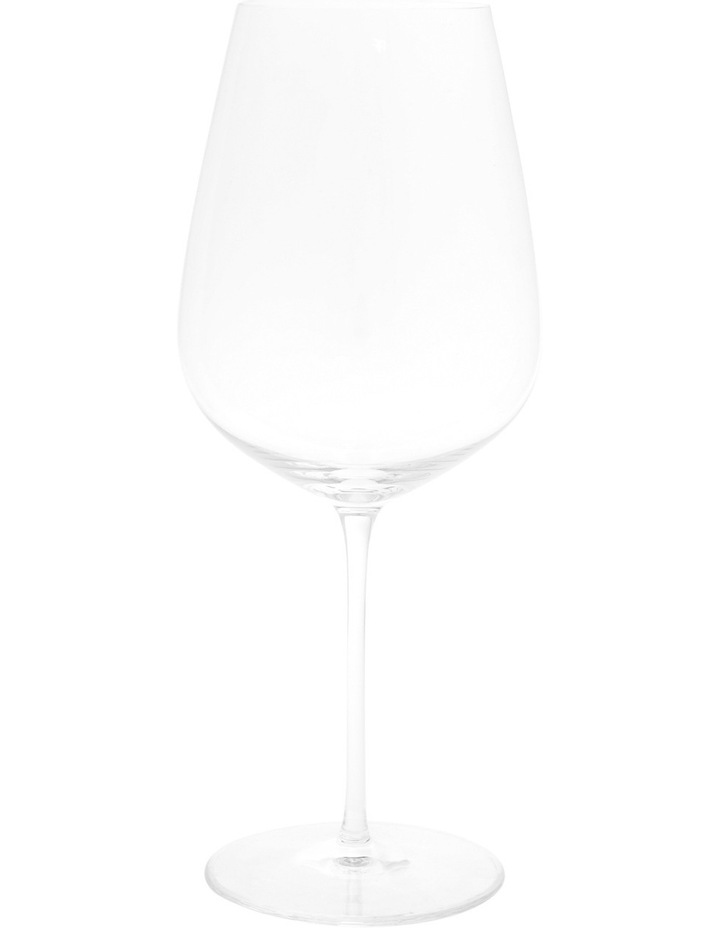 Premium Mouth Blown Crystal Red Wine Glasses, Set of 4 image 1