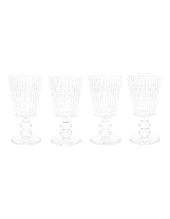 Sapo Wine Goblet set of 4 image 1
