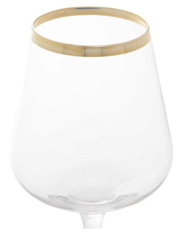 Gold Celebration Wine Glass Set of 4 image 2