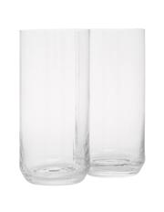 Australian House & Garden - Pitwater Optic Hi Ball Glass  Set of 4