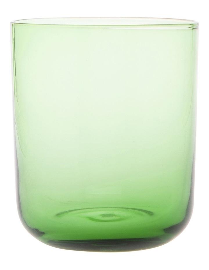 Denver tinted green tumbler Set of 4 image 1
