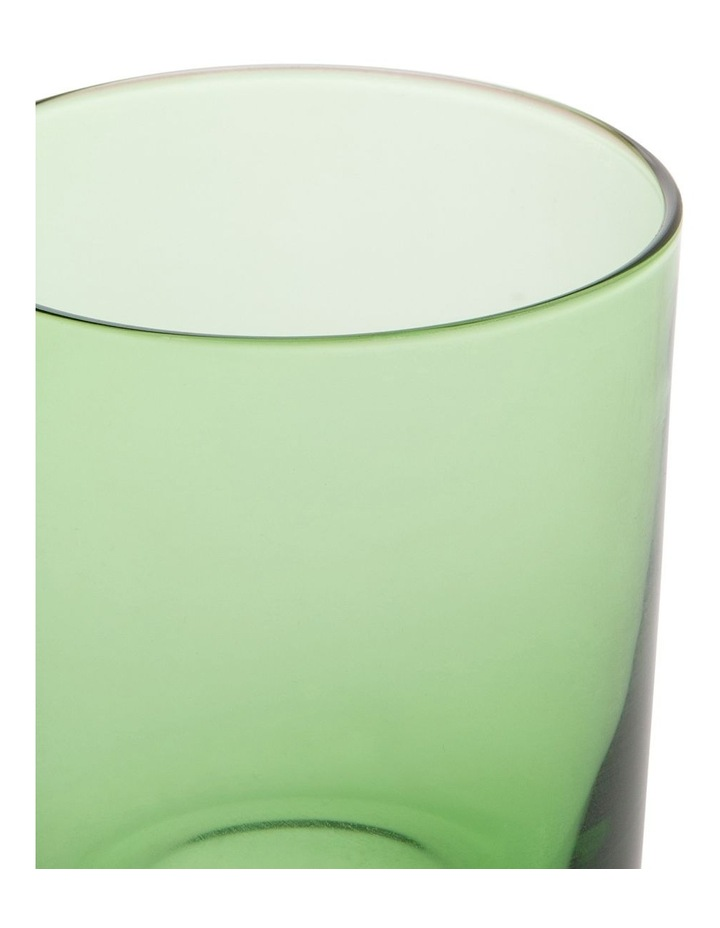 Denver tinted green tumbler Set of 4 image 2