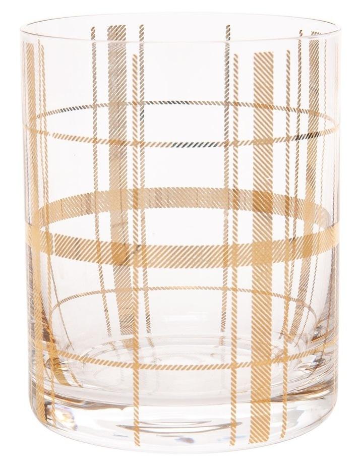 Tartan Set Of 4 Gold Dof image 1