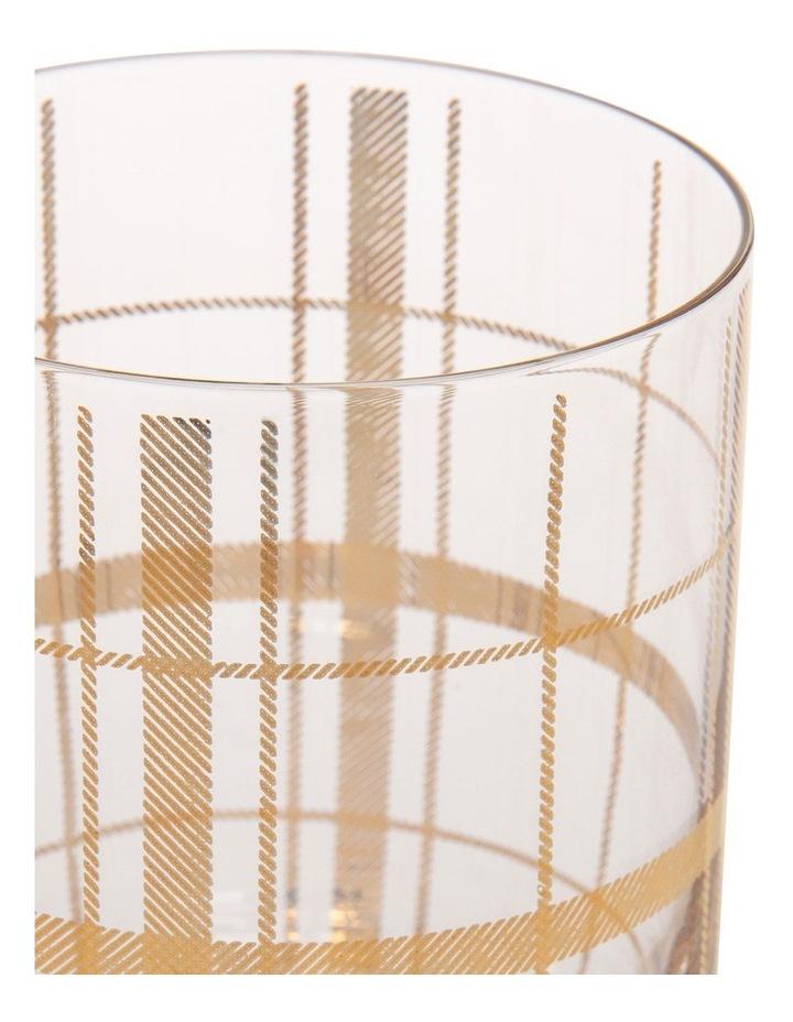 Tartan Set Of 4 Gold Dof image 3