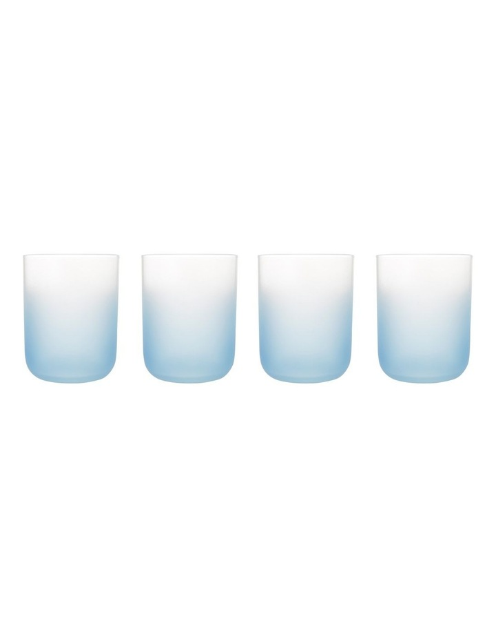 Arlo Frosted Tumbler Set of 4 Blue image 2
