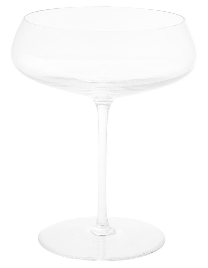 Premium Mouth Blown Crystal Champage Saucer S4 image 1