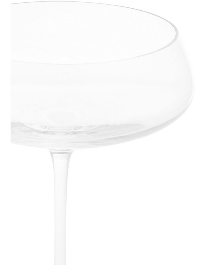 Premium Mouth Blown Crystal Champage Saucer S4 image 2