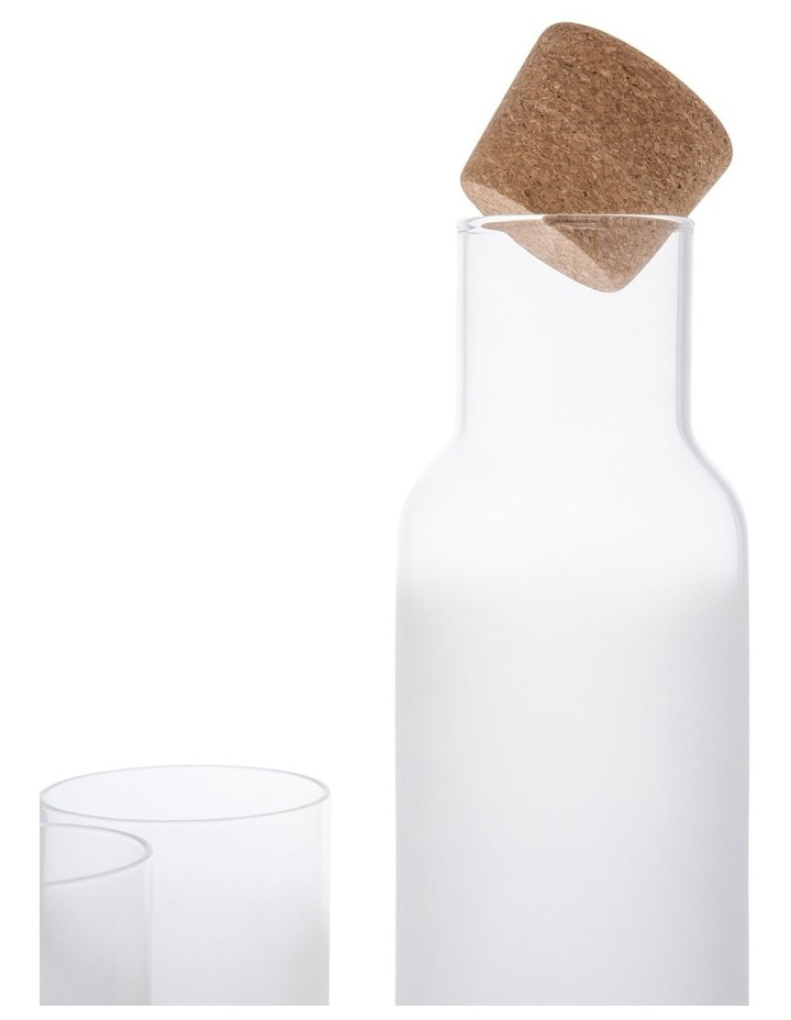 Bowen Frosted Glass 2pc Tumbler And Jug Set image 2