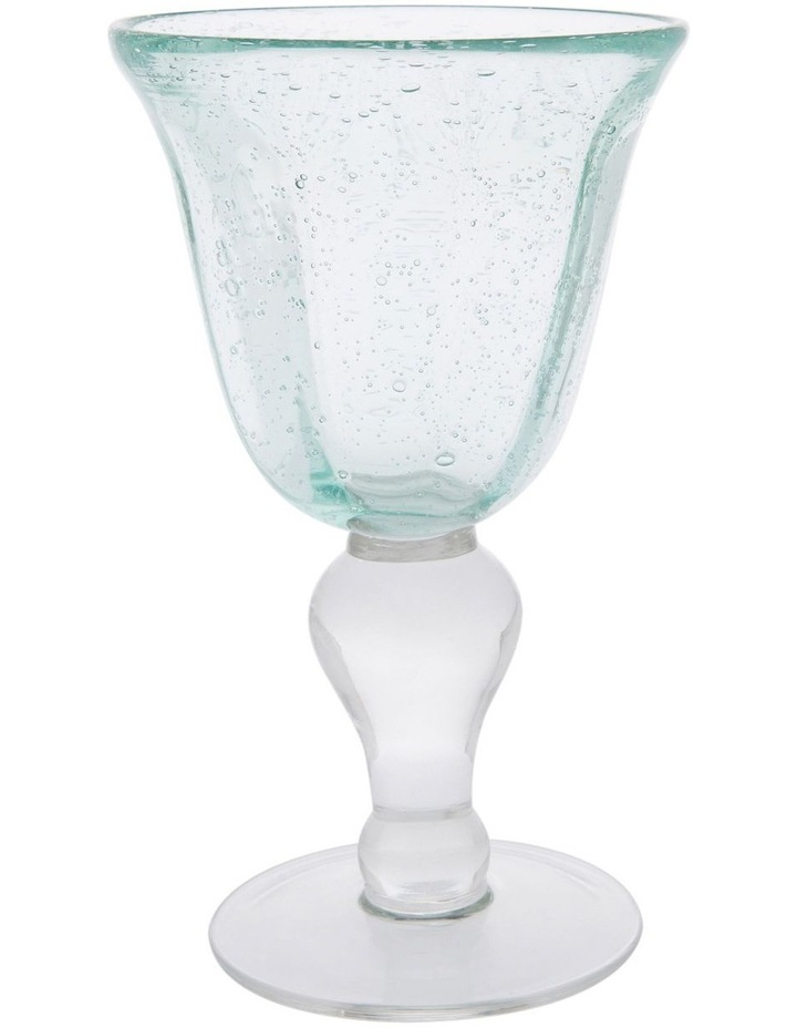 Hawkesbury Recycled Glass 16.5cm Bubble Stemware image 1