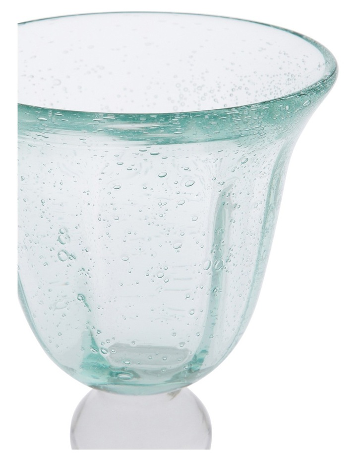 Hawkesbury Recycled Glass 16.5cm Bubble Stemware image 2