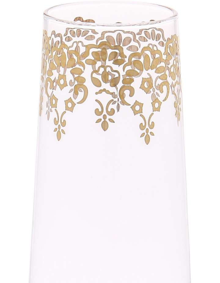 Gold Lace Champagne Glass image 2