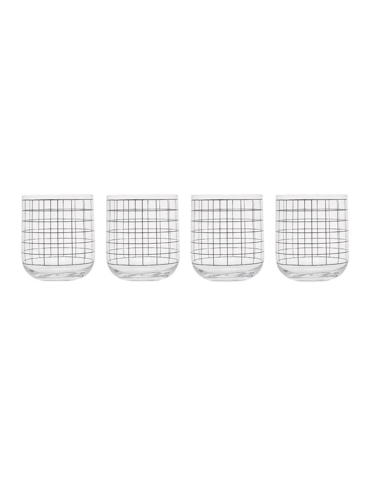 Grid Decal Round Base Tumbler image 2