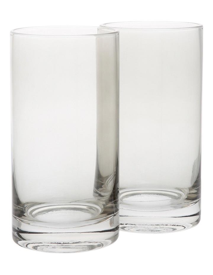 Tinted Grey 14.5cm Hiball Glass image 1