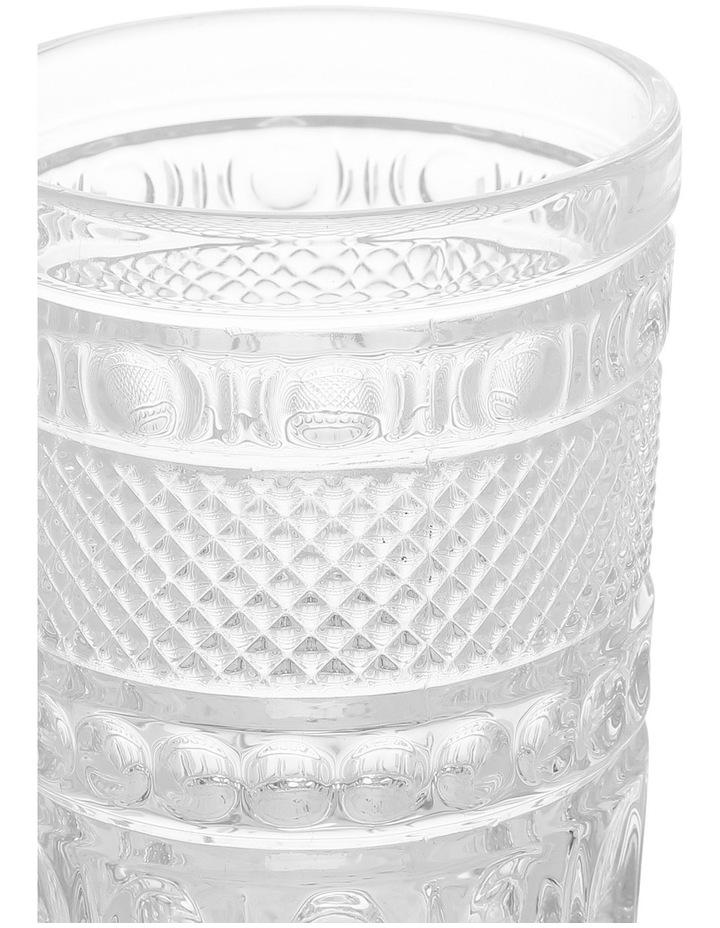 Embossed Cut Glass Tumbler image 2