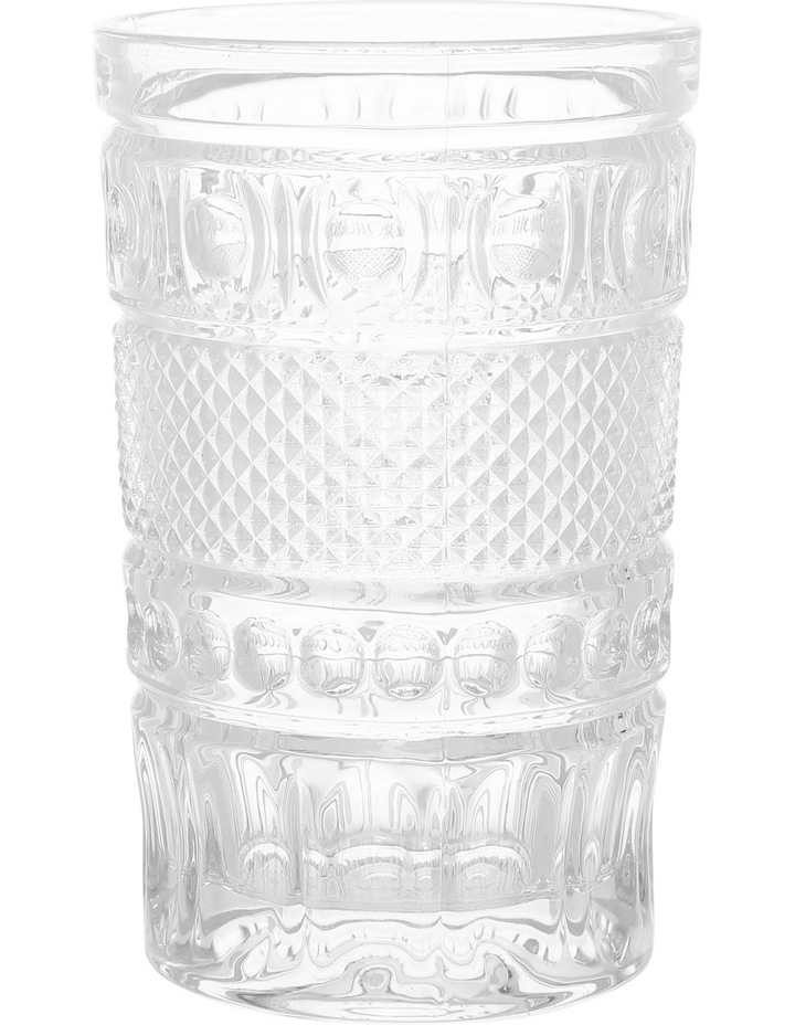 Embossed Cut Hiball Glass image 1