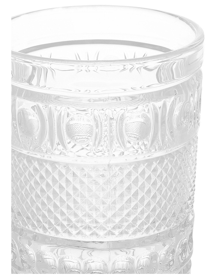 Embossed Cut Hiball Glass image 2
