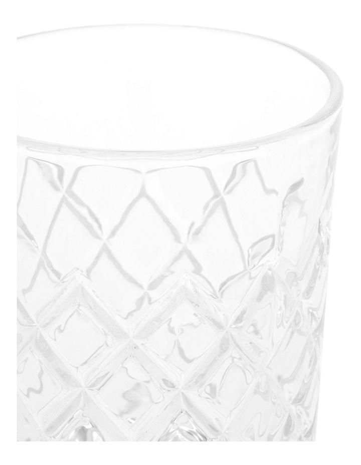 Diamond Pattern Glass Tumbler 8.3x10cm image 2