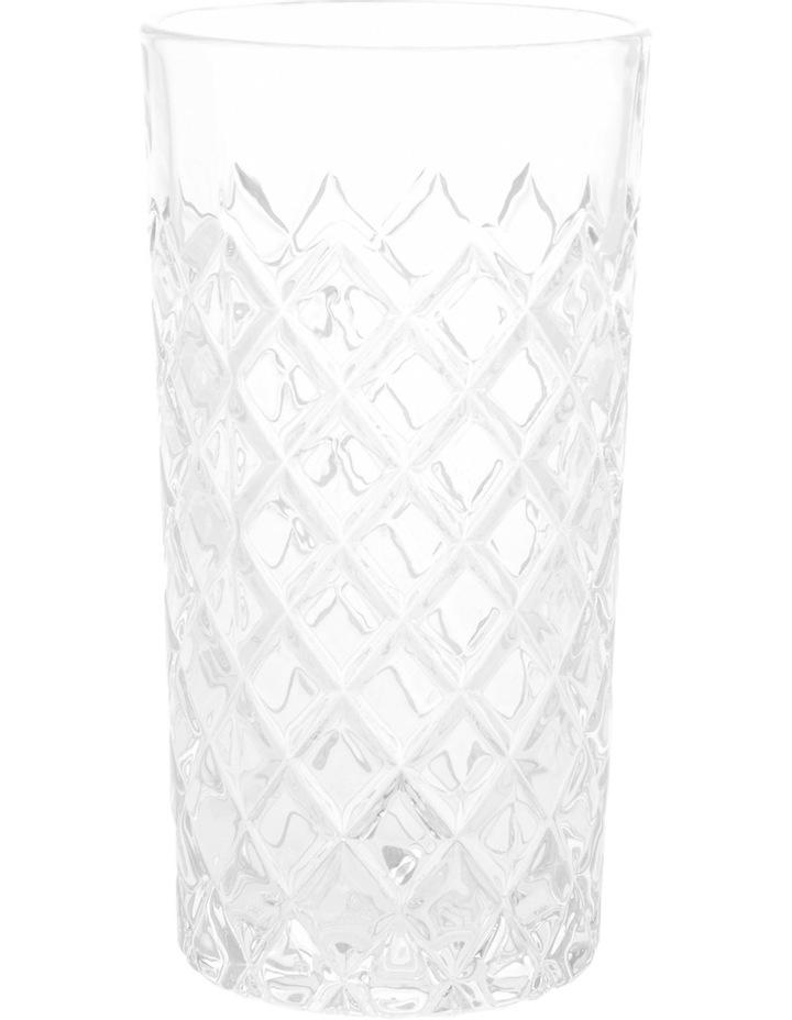 Diamond Pattern Hiball Glass image 1