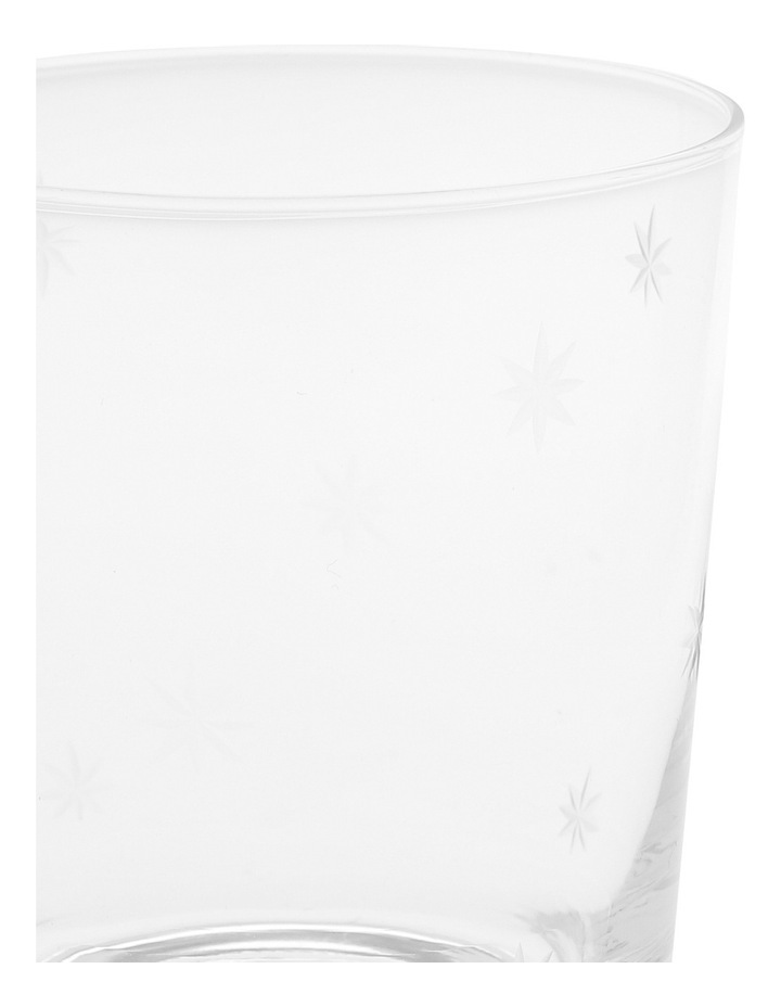 Clear Star Etching Glass Tumbler image 2