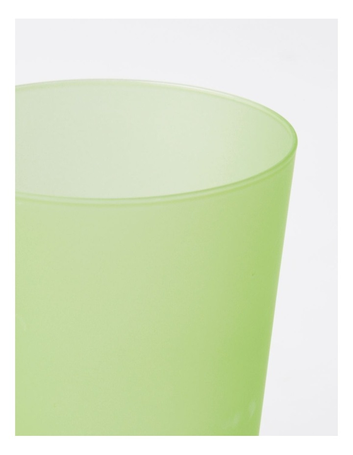 Frosted Tumbler in Green image 2